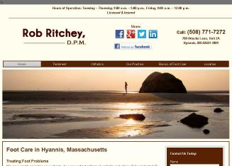 Dr.+Rob+M+Ritchey%2C+DPM Website