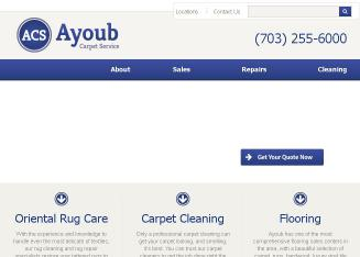 Acs+Ayoub+Carpet+Service Website
