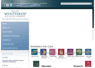 Winthrop+Surgical+Associates+PC Website