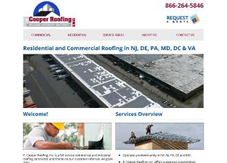 P+Cooper+Roofing Website