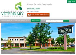 Orchard+Park+Veterinary+Medical+Center Website