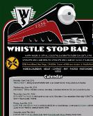 Whistle+Stop+Bar Website
