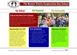 Roslyn-Trinity+Cooperative+Day+School Website