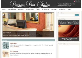 Custom+Cut+Salon Website