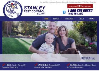 Stanley+Pest+Control Website