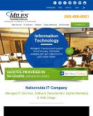Miles+Technologies Website