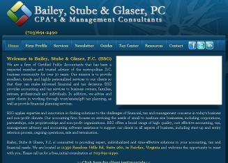 Bailey+Stube+%26+Glaser%2C+PC+-+CPA%27s+%26+Management+Consultants Website