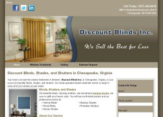 Discount+Blinds+Inc Website
