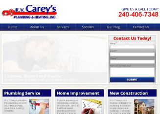 Carey%27s+Plumbing+%26+Heating+RV+INC Website