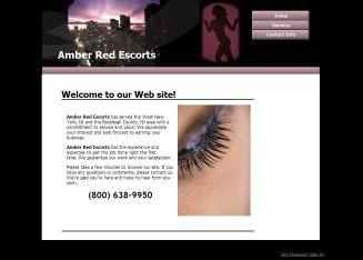 Amber+Red+Escorts Website