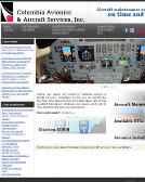 Columbia+Avionics Website