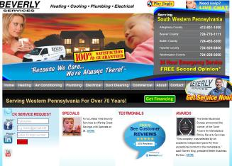 Beverly+Services Website