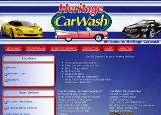 Heritage Car Wash Denton Coupons
