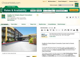 Quality+Inn+Ontario+Airport Website