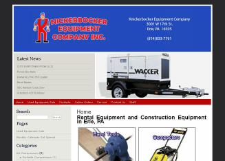 Knickerbocker+Equipment+CO+Inc Website