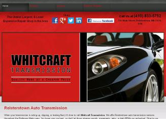 Whitcraft+Transmission Website