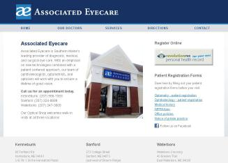 Associated+Eyecare Website