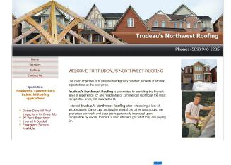 Trudeau%27s+Northwest+Roofing+%26+Construction Website