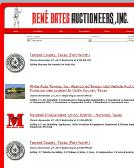Bates+Rene+Auctioneers+Inc Website
