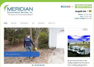Meridian+Environmental+Services Website