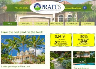 Pratt%27s+Landscape+Services+Inc Website