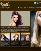 Kristi%27s+Hair+Designs Website
