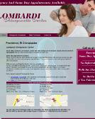 Lombardi+Chiropractic+Center Website