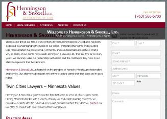 Henningson & Snoxell Limited Attorneys at Law