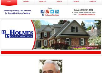 R+P+Holmes+Corporation Website