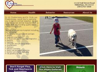 Genito+Animal+Hospital Website