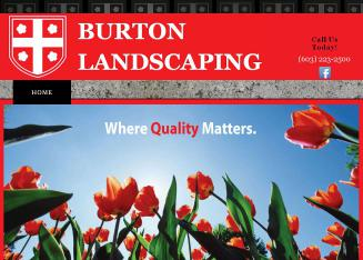 Burtons%3B+Landscaping+LLC Website