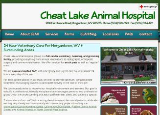 Cheat+Lake+Animal+Hospital Website