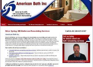 American+Bath+Inc. Website