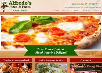 Alfredo%27s+Pizza+%26+Pasta Website