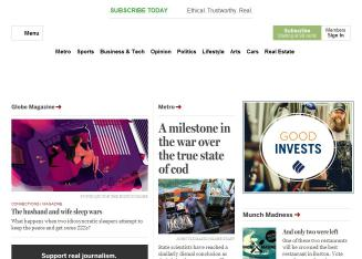 Boston+Globe Website