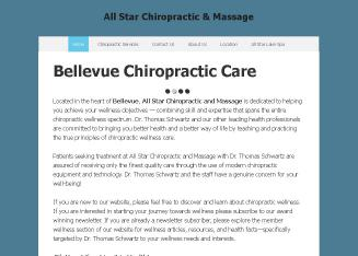 All+Star+Chiropractic+%26+Massage Website
