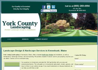 York+County+Landscaping Website