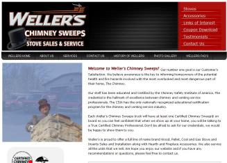 Weller%27s+Chimney+Sweeps Website