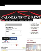 Caloosa+Tent+%26+Rental Website