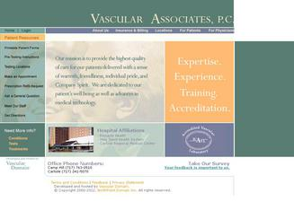Vascular+Associates+PC Website