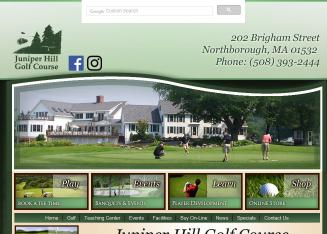 Juniper+Hill+Golf+Course Website