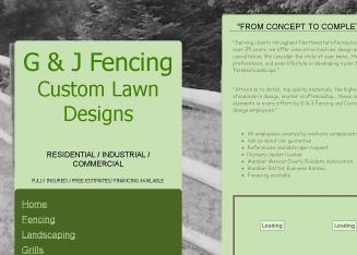 Custom+Lawn+Designs Website