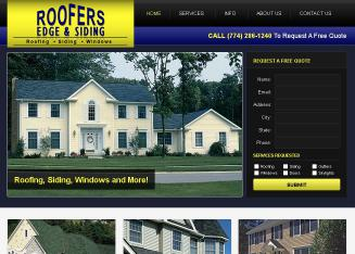 Roofers+Edge+%26+Siding+Inc Website