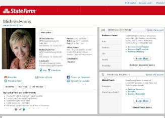 Michele+Harris+-+State+Farm+Insurance+Agent Website