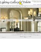 Lighting+Gallery+INC Website