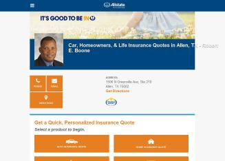 Allstate Insurance Company - Robert Boone