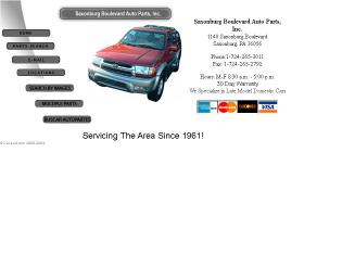 Saxonburg+Blvd+Auto+Parts Website