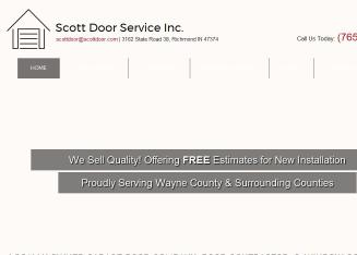 Scott+Door+Service+Inc Website