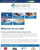 West+Chester+Veterinary+Medical Website