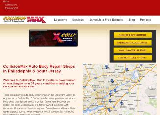 CollisionMax+of+Westmont Website